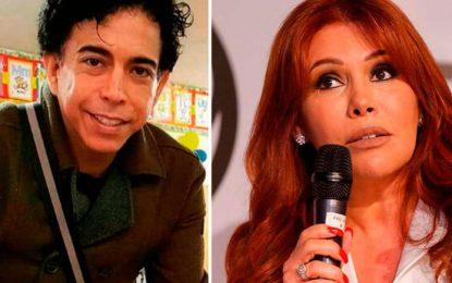 Magaly Medina indignada por la participación de Richard Swing en El Reventonazo de la Chola