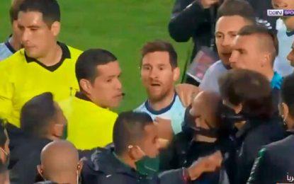 Final caliente en La Paz: Messi casi pelea con bolivianos tras victoria de Argentina por Eliminatorias